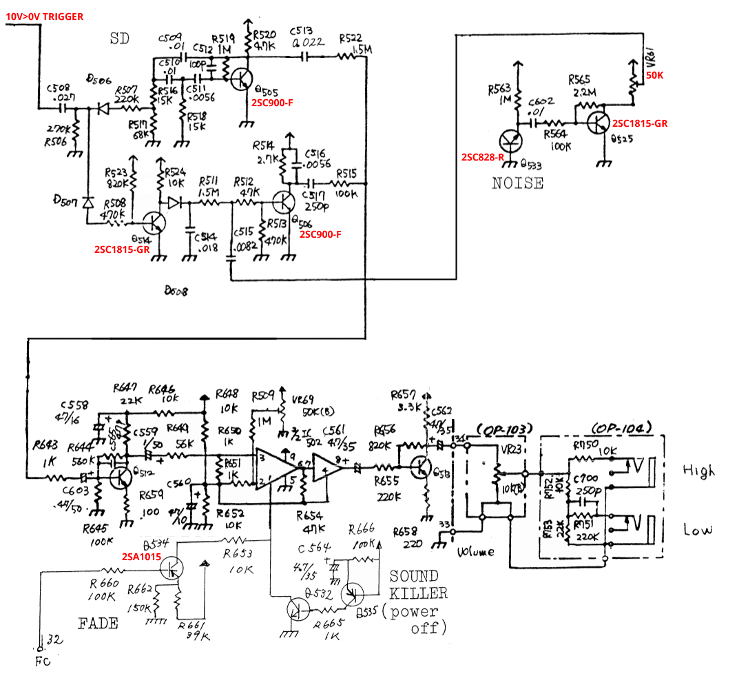 Cr 78 Snare In Eurorack Diy We Love Synthesizer Drum Parts Diagram Picture Pictures Original Design Cr78