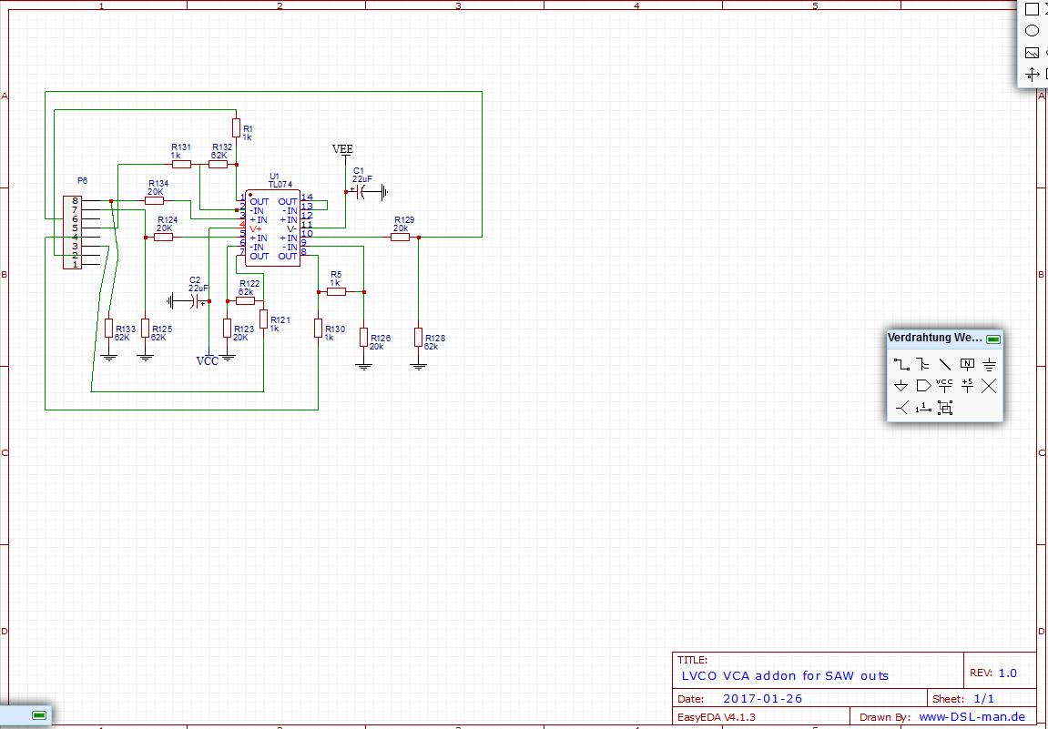 LVCO addon - DIY 5U Modular Synthesizer - We love DIY Synthesizer