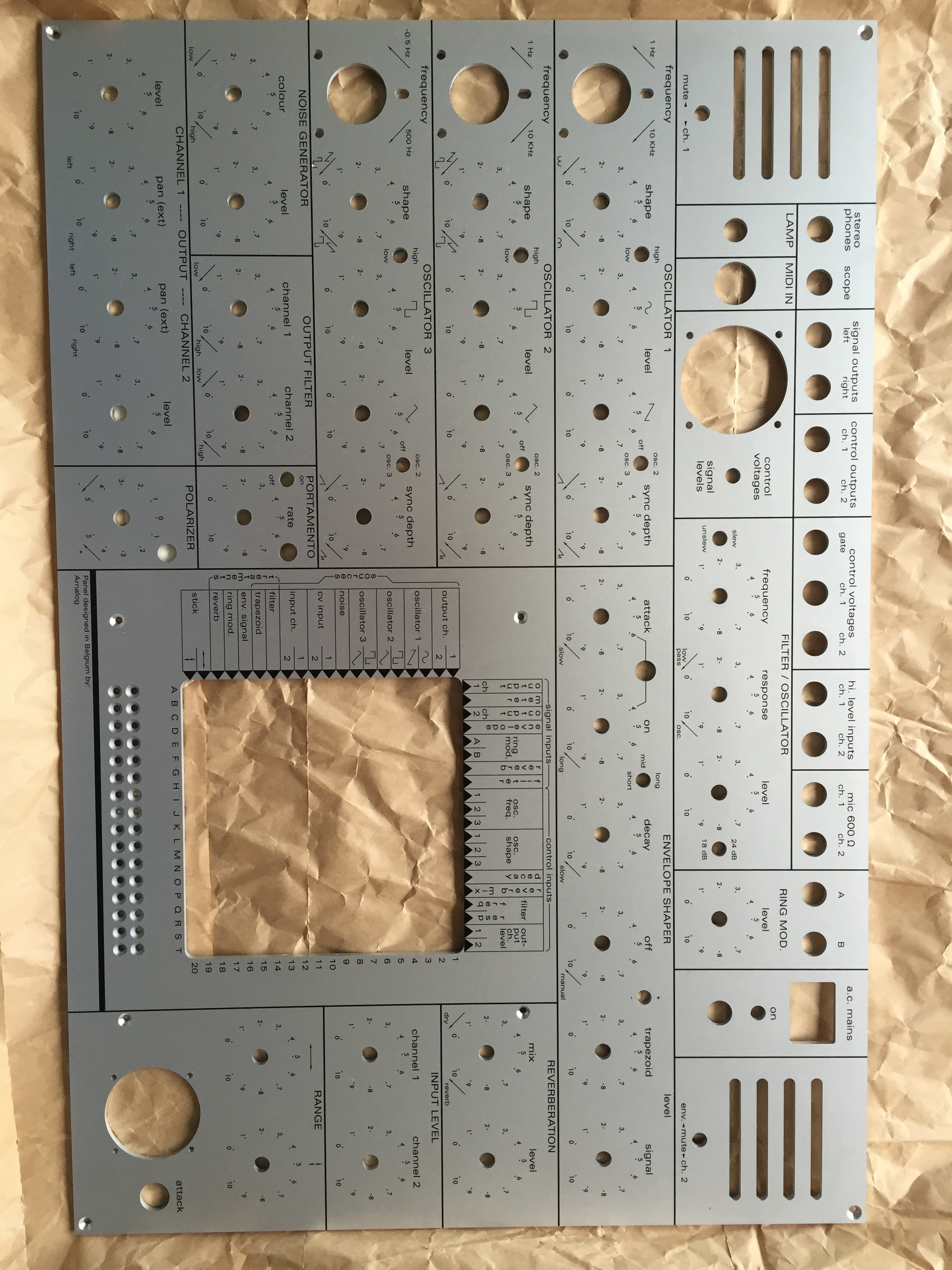 EMS Synthi A Clone - DIY Synth other - We love DIY Synthesizer
